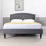 Home Headboards For Beds Upholstered Platform Bed Bedroom