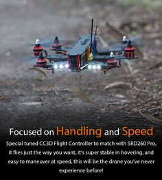 STORM Racing Drone (RTF / SRD260 Pro) http://www.helipal.com/storm-racing-drone-rtf-srd260-pro.html