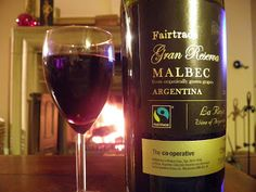 The wine is made with organically grown grapes and it really hit the spot for me – although it would have to  be a pretty rotten Malbec for me not to like it.  It's full bodied but mellow and incredibly smooth to drink.