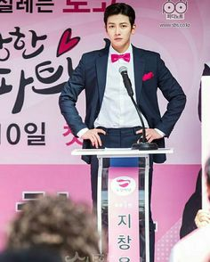 """[Drama] Ji Chang Wook in wacky dance teasers for """"Suspicious Partner"""" Ji Chang Wook 2017, Ji Chang Wook Smile, Shopping King Louis, Best Romantic Comedies, Handsome Korean Actors, Park Hyung, Suspicious Partner, Campaign Posters, Partner Dance"""