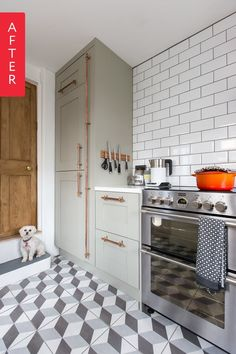 When Maxine of We Love Home moved into her home she inherited a less than ideal kitchen. Not only was it pretty blah aesthetics wise, it was basically falling apart. Not one to be deterred, she saw this as a golden opportunity to design her dream kitchen.