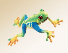 Red Eyed Tree Frog Puppet