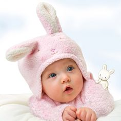 Super cute!! Blossom's Hat and Mitt Set - Bunnies by the Bay Baby Collection
