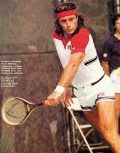 Guillermo Vilas,buen tenista,pero muy arrogante en su juventud.