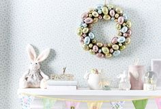 Easter decor by #bedbathntable #living
