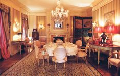Those invited to dine at 834 Fifth Avenue ranged from Wall Street sharpshooters to Washington power brokers. © 2020 Visko Hatfield Art Day, Old World, New Art, The Help, Interior Design, Elegant, Modern, Wall Street, Collection