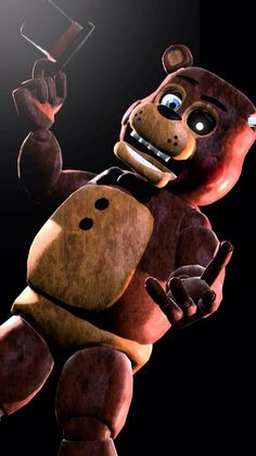 Toy Freddy. one of the mane toy animatronic do's not like Bonnie and Bonnie doesn't like him can be a jerk and he like's to hangout with Freddy.( Open )