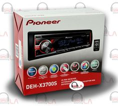 Sourcing-LA: PIONEER DEH-X3700S CD MP3 USB AUX IPOD EQUALIZER M...