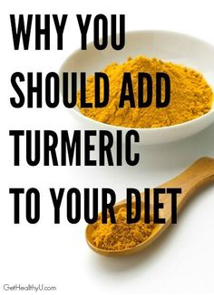 Add turmeric to your