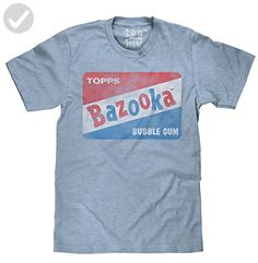 4be76319c Vintage Bazooka Bubble Gum Licensed Topps T-shirt-medium - Cool and funny  shirts