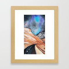 Open road Framed Art Print by bublinko Framed Art Prints, Surrealism, Shop, Store