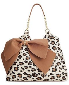 Betsey Johnson Big Bow Tote - Macy's