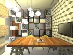 Arquitetura de interiores de escritório em Campo Grande/MS