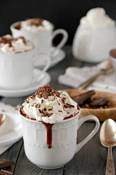 Back a few years ago there was a blog that I frequented called 'Made by Lex'. It was run by a very talented woman who sewed beautiful clothing and accessories for her children along with the occasional recipe and musings.  One of my favorite posts was of a recipe for Thick Italian Hot Chocolate. I …