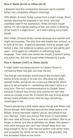 OUAT. Comparing Killian with the other men in Emma's life. Part two