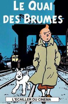 Les Aventures de Tintin - Album Imaginaire - Le Quai des Brumes