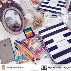 Planeje sua vida e escolha ser feliz... #meudailyplanner #dailyplanner #plannernerd #planner #organização