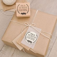Rustic packaging. Packaging ideas