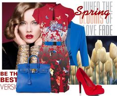 """""""Spring around the corner"""" by styled-by-daniela-douk on Polyvore"""