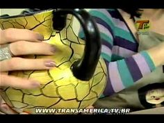 Tv Transamérica - Técnica: Decraquelex