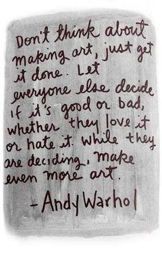 Just make art!