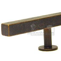 Lews Hardware Bar Pull Collection - 12 inch (304mm) Bar Pull 18.0 inch O/A in Oil Rubbed Bronze - ( 61-105 ) - additional view