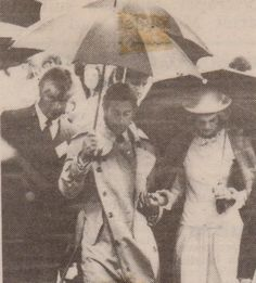 April 19, 1983: Prince Charles & Princess Diana visiting the Milford School on the shores of Lake Pupuke in Auckland.