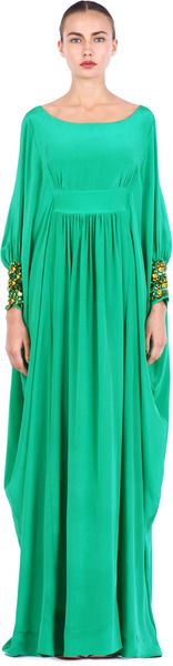 Chloucha Dress - Lyst - I think I could make this..I need a pretty gown to wear to walimah's and for the Eids!