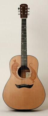 Guitare Tradition - Guitare Atelier Vihuela Acoustique acier