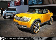 Land Rover Defender Concepts