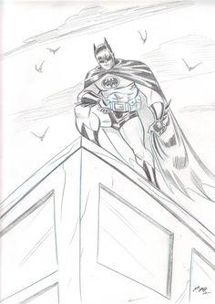 Batman Sketch by em-scribbles on DeviantArt