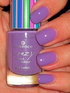 Essence Lilac Forever nail polish