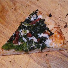 Broccoli Rabe, Potato and Rosemary Pizza Recipe | Rapini Recipies ...