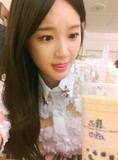 Whats Kang Min Kyungs favorite drink?
