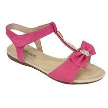 Sandales filles ornées de noeuds à strass