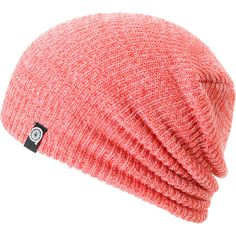Aperture Pedro Red Speckle Beanie ($17) ❤ liked on Polyvore