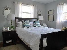 Bedroom Benjamin Moore grays