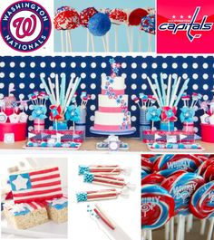 All American Candy buffet