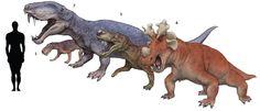 1. Lycaenops ornatus 2. Eotitanosuchus olsoni 3. Gorgonops torvus 4. Estemmenosuchus uralensis
