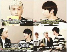 At least he's honest hahaha | VIXX Ravi & Leo