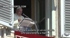 Francisco pide a las familias que lean la Biblia