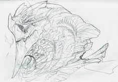 another dragon by OddOsprey.deviantart.com on @DeviantArt
