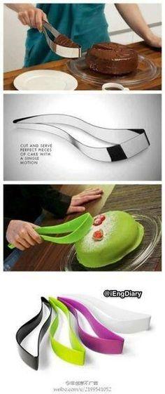 ケーキ用のナイフ これほしい