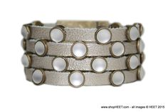 Rockstar Antique Gold Frosted Pearl Exotic in Platinum - $250 2015 Frosted Collection