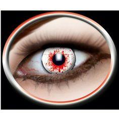 Kontaktlinser med rødsprængte øjne. Var det hård nat?  Disse kontaktlinser beviser med stor sandsynlighed at der er en der har haft nogle hårde timer med druk eller arbejde. #kontaktlinser #hangover