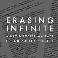 63 best read this images on pinterest david foster wallace book jenni b baker is creating her own poetry by erasing words from pages of david fandeluxe Image collections