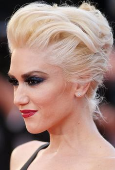 Gwen Stefani Long Hairstyle: French Twist for Women under 30