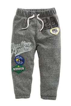 4c86ceabca4a Buy Grey Badged Joggers from the Next UK online shop