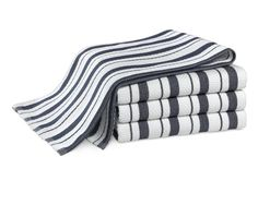 Williams-Sonoma Stripe Towels, Set of 4, Navy Get more towels next time in PA