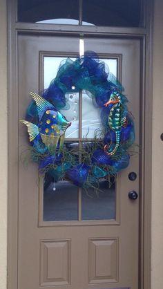 I just like the idea of this.  Sea wreath